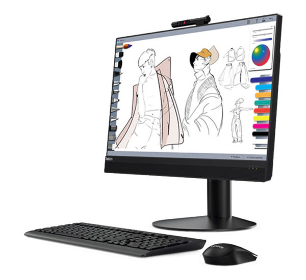All-In-One Lenovo M920Z, 23.8 Touch, Intel Core i5-8500
