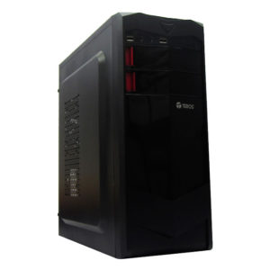 Case TEROS TE1070N, Mid Tower, ATX, 600w, Usb 2.0, Audio, Negro