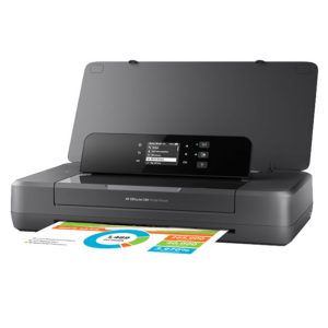 Impresora Portátil HP Officejet 200, 20 ppm/19 ppm, 1200dpi, Bluetooth/WiFi