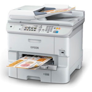 Multifuncional de Tinta Epson Workforce Pro WF-6590,