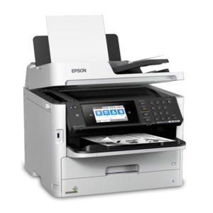 Multifuncional de Tinta Epson Workforce Pro WF-M5799, Imprime/Escanea/Copia/Fax, WiFi