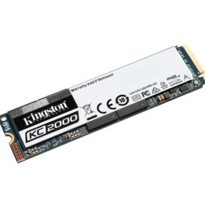 Disco Duro de Estado Solido Kingston KC2000, 2TB, M.2, 2280, PCIE NVME GEN 3.0 X4