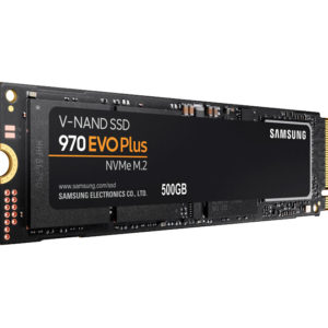 Disco Duro de Estado Solido Samsung 970 EVO Plus Series, 500GB, M.2, PCIE 3.0 X4, NVME 1.3