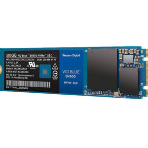 Disco Duro de Estado Solido Western Digital WD BLUE, 500GB, M.2 2280